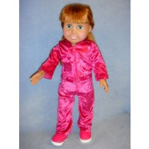 "|Velour Sweatsuit - 18"" Dolls"