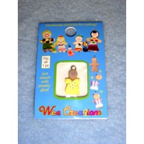 |WC Baby Charm - Tan Skin - Yellow Outfit