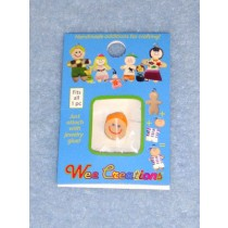 |WC Boy Face - Fair Skin - No Hair w_Orange Cap
