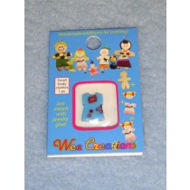  WC Child Outfit - Light Blue w_Red Block Design Jumper