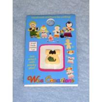  WC Child Outfit - Light Tan Dress w_Dog