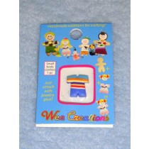 |WC Child Outfit - Multi-Color Striped Top & Blue Pants