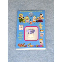 |WC Child Outfit - White Overalls w_Blue Striped Top