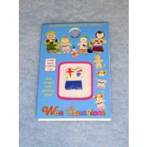  WC Child Outfit - White Sailor Top w_Blue Pants