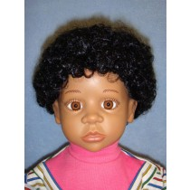 " Wig - Afro - 14-15"" Black"