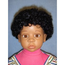 "|Wig - Afro - 8-9"" Black"