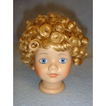 "|Wig - All-Over Curls _Clown - 10"" Blond"