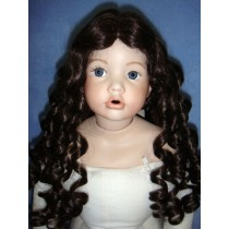 "|Wig - April - 8-9"" Dark Brown"
