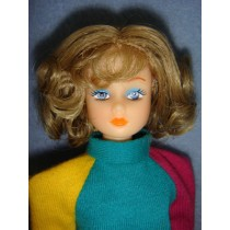"|Wig - Barbie - 4"" Blond"