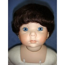 "|Wig - Bob - 5-6"" Dark Brown"