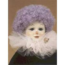 "|Wig - Clown - 6-7"" Lavender"