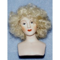 "|Wig - Curly - 4"" Blond"