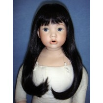 "|Wig - Danielle - 8-9"" Black"