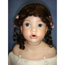 "|Wig - Gina - 8-9"" Light Brown"