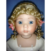 "|Wig - Gina - 8-9"" Pale Blond"