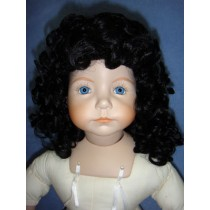 "|Wig - Heather - 8-9"" Black"