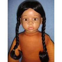 "|Wig - Indian Princess - 6-7"" Black"
