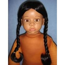 "|Wig - Indian Princess - 8-9"" Black"