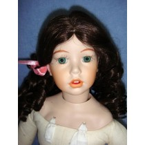 "|Wig - Kelly - 8-9"" Dark Brown"