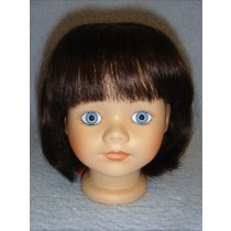 "|Wig - Kimberly - 8-9"" Dark Brown"