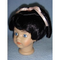 "|Wig - Lillian_Renee - 8-9"" Black"