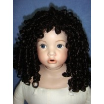 "|Wig - Liza - 13-14"" Dark Brown"