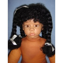 "|Wig - Maya - 17-18"" Black"