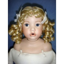 "|Wig - Molly - 8-9"" Pale Blond"