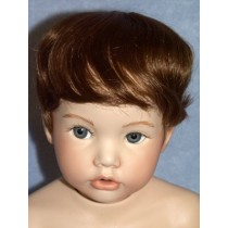 "|Wig - Newborn - 11-12"" Brown"