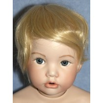 "|Wig - Newborn - 13-15"" Pale Blond"