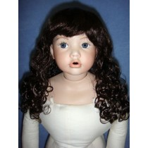 "|Wig - Penny - 8-9"" Dark Brown"