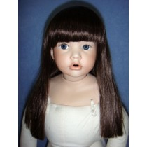 "|Wig - Suzie - 16-17"" Dark Brown"