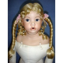 "|Wig - Theresa - 8-9"" Pale Blond"