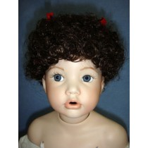 "|Wig - Vickie - 8-9"" Dark Brown"