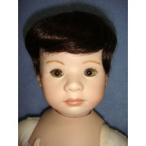 "|Wig - William (Short) - 5-6"" Dark Brown"