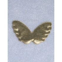 "|Wings - 2 1_4"" Gold 1 pc - Pkg_4"