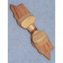 |Wood - Dimensional Bow - 4""