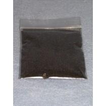 |.40-.60mm Black Glass Beads - 2 oz.