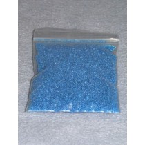 |.40-.60mm Blue Glass Beads - 2 oz.