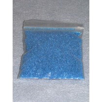 |.50-.75mm Blue Glass Beads - 2 oz.