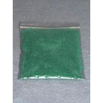 |.50-.75mm Green Glass Beads - 2 oz.