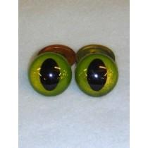Cat Eye - 21mm Custom Color 1 pair