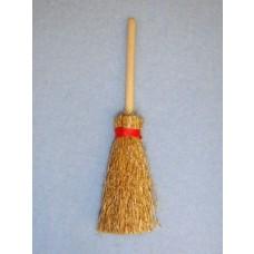 """3 1_2"""" Miniature Straw Broom"""