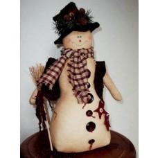 Buttons The Snowman Pattern