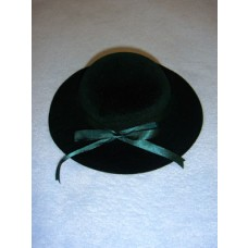 "Hat - Classic Flocked - 7"" Dark Green"