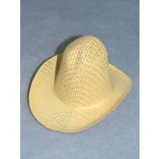 "Hat - Farmer Straw - 3"" Natural"