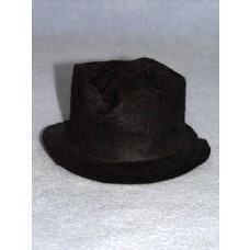 "Hat - Snowman_Hobo - 3"" Black"