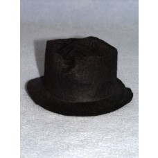 "Hat - Snowman_Hobo - 5 1_2"" Black"