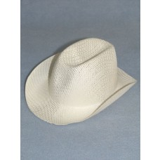 "Hat - Straw Cowboy - 8 1_2"" White"