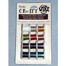 Light Color Craft Wire Assortment